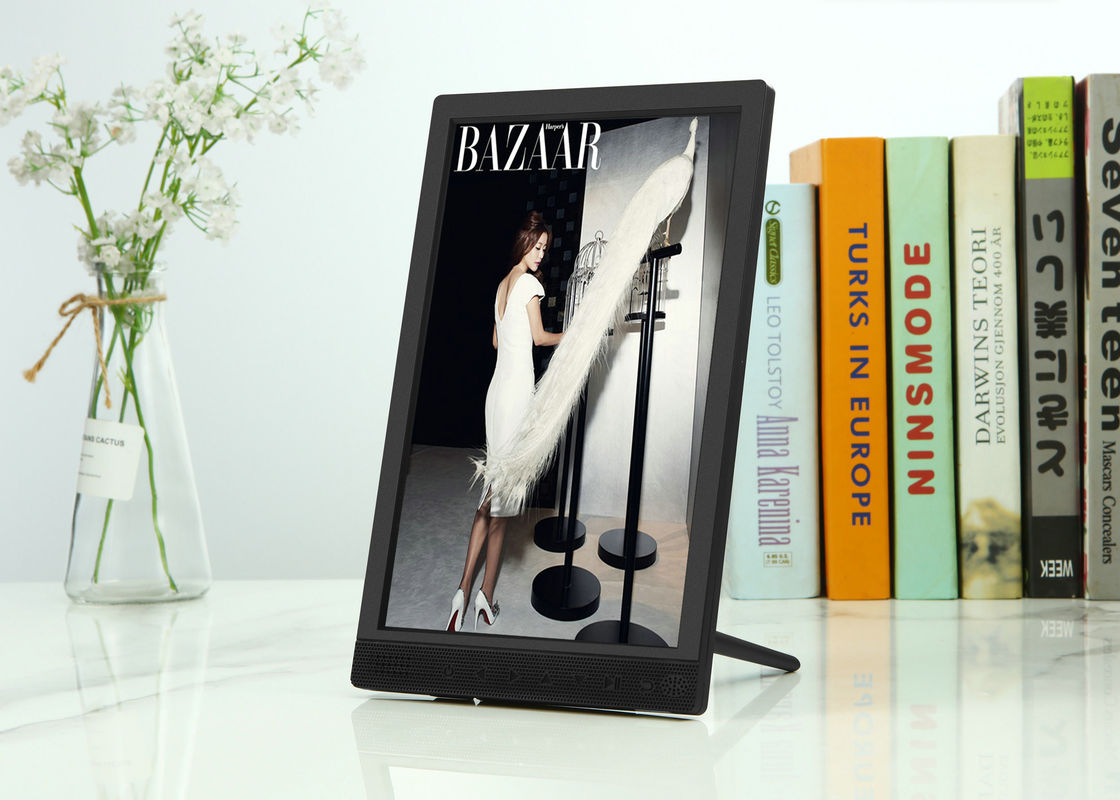 Touch Keys 10 Inch 1280x720px Wifi Digital Picture Frame