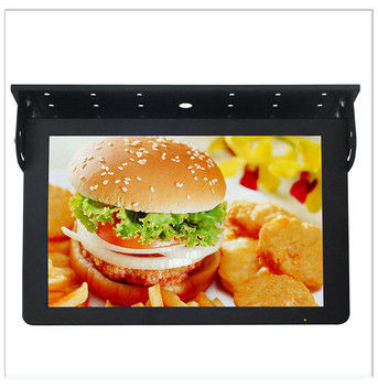 19 Inch Advertising Wall Mounted Digital Signage , Network Bus LCD Monitor